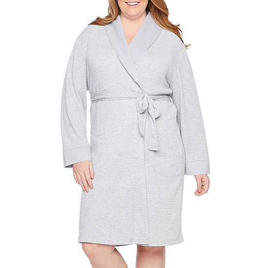 Liz Claiborne® Plus Size Spa Robe