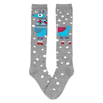 1 Pair Knee High Socks - Womens