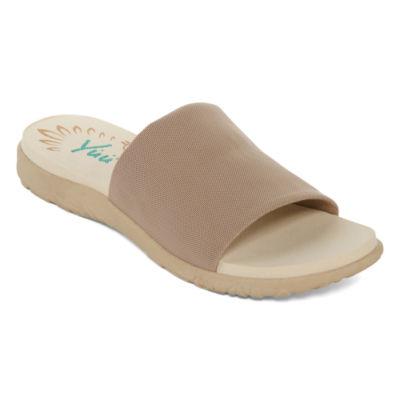 Yuu Casie Womens Slide Sandals