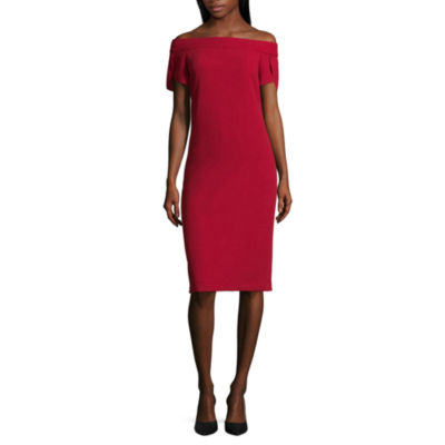 Worthington Short Sleeve Bodycon Dress