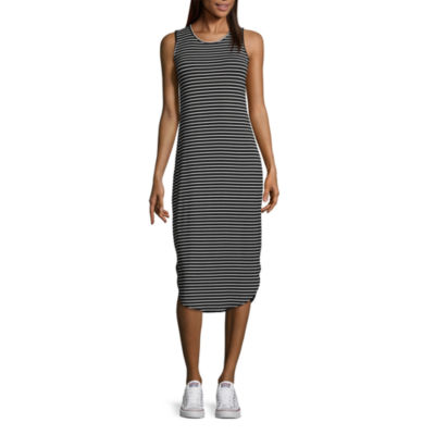 A.N.A Long Sleeve Sheath Dress - Tall