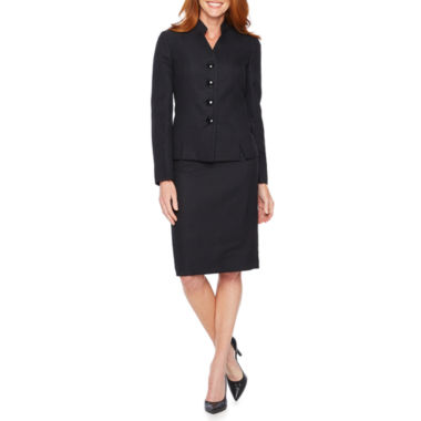 Le Suit Geo Linear Skirt Suit