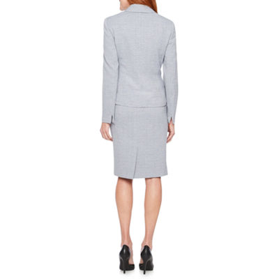 Le Suit Abstract Skirt Suit