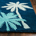 Rizzy Home Cabot Bay Collection Josephine Hawaiian/Tropical Rectangular Rugs