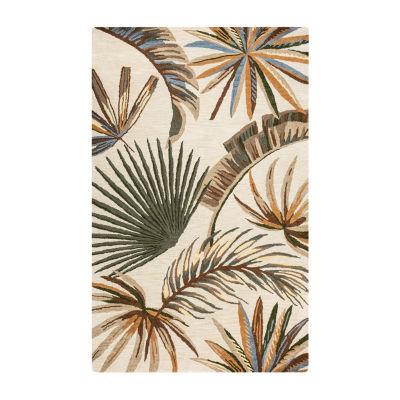 Rizzy Home Cabot Bay Collection Lillian Hawaiian/Tropical Rectangular Rugs
