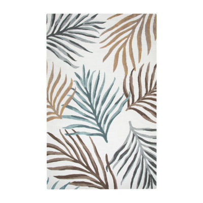 Rizzy Home Cabot Bay Collection Lily Hawaiian/Tropical Rectangular Rugs