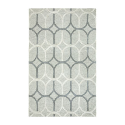 Rizzy Home Caterine Collection Isla Geometric Rectangular Rug