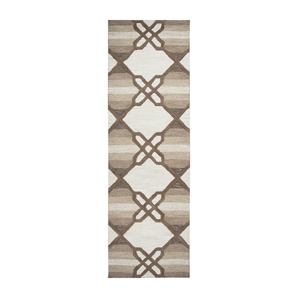 Rizzy Home Caterine Collection Kendall Geometric Rectangular Rug