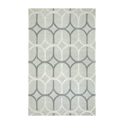 Rizzy Home Caterine Collection Lyla Geometric Rectangular Rugs