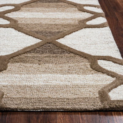 Rizzy Home Caterine Collection Molly Geometric Rectangular Rug