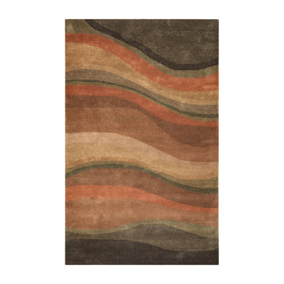 Rizzy Home Colours Collection Brooke Stripe Rectangular Rugs