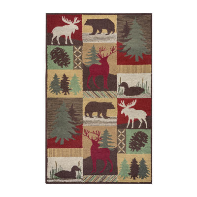 Rizzy Home Country Collection Amy Animal Rugs