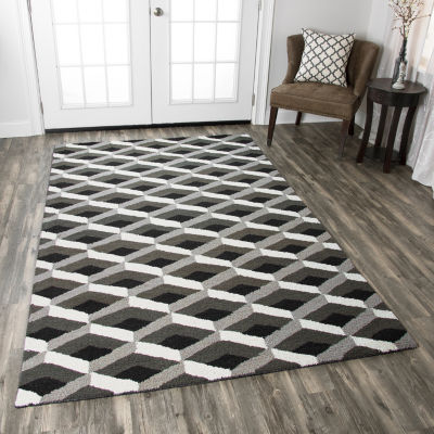 Rizzy Home Country Collection Norah Geometric Rugs