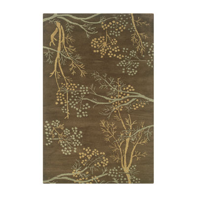 Rizzy Home Craft Collection Sara Floral Rugs