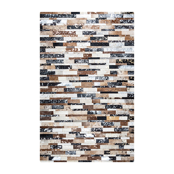 Rizzy Home Cumberland Pass Collection Aliyah Color Block Rugs