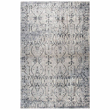 Rizzy Home Panache Collection Maggie Scroll Rectangular Rugs