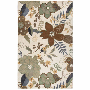 Rizzy Home Pandora Collection Camille Floral Rugs