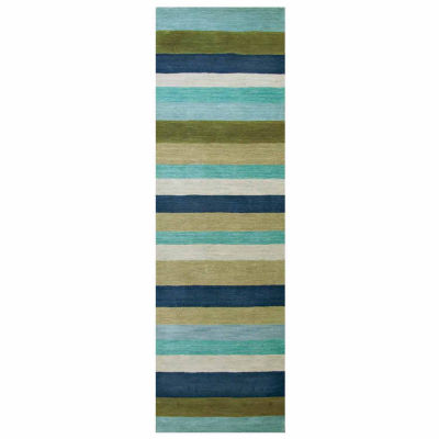 Rizzy Home Platoon Collection Noelle Stripe Rectangular Rugs