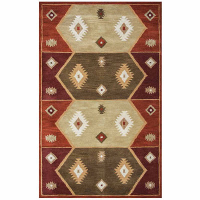 Rizzy Home Southwest Collection Adelaide Pattern Rugs