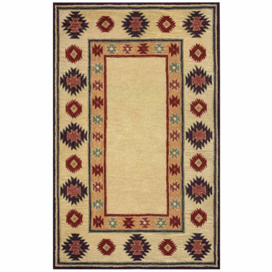 Rizzy Home Southwest Collection Adelynn Bordered Rugs