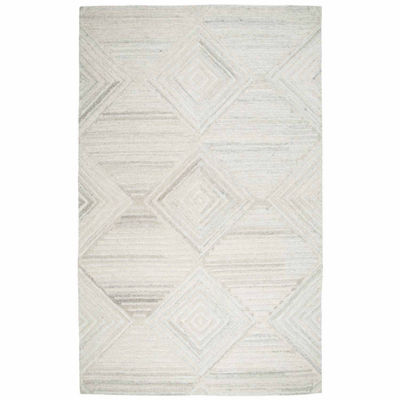 Rizzy Home Suffolk Collection Brianna Diamond Rectangular Rugs