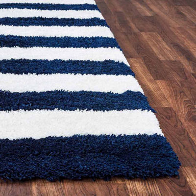 Rizzy Home Tabor Belle Collection Ruby Stripe Rugs