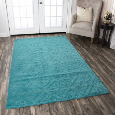 Rizzy Home Technique Collection Madleine Solid Rugs