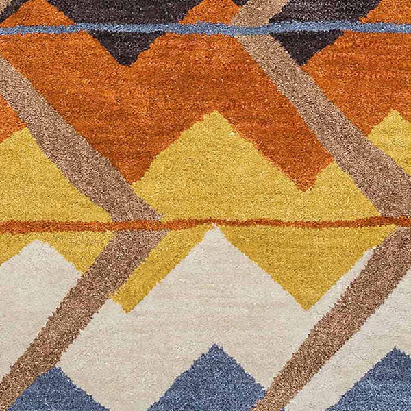 Rizzy Home Tumble Weed Loft Collection Alice Chevron Rectangular Rugs