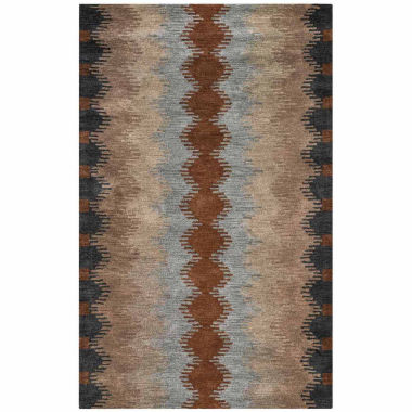 Rizzy Home Tumble Weed Loft Collection Chelsea Pattern Rectangular Rugs