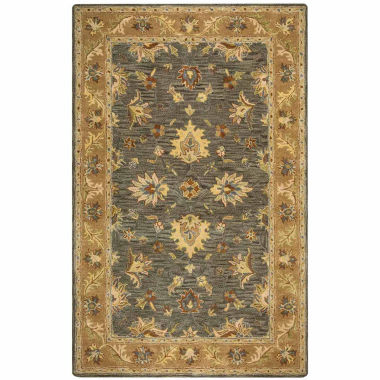 Rizzy Home Valintino Collection Alexia Bordered Rectangular Rugs