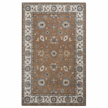 Rizzy Home Valintino Collection Ashlyn Bordered Rectangular Rugs