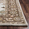 Rizzy Home Valintino Collection Julia Bordered Rectangular Rugs