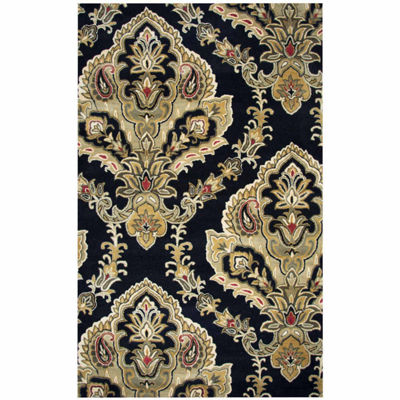 Rizzy Home Valintino Collection Malia Medallion Rectangular Rugs
