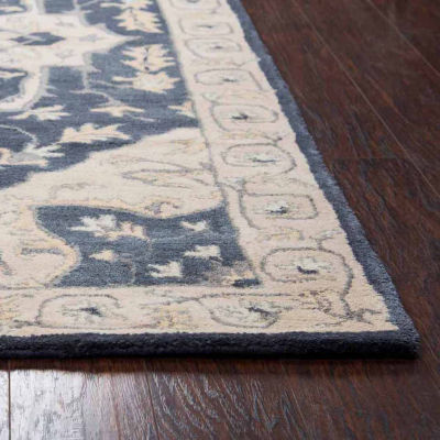 Rizzy Home Valintino Collection Myla Medallion Rectangular Rugs