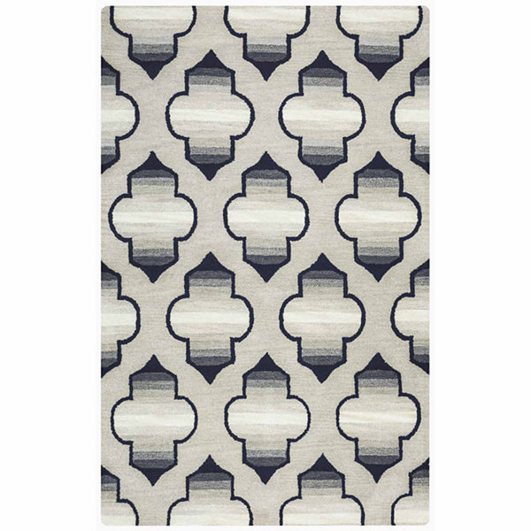 Rizzy Home Valintino Collection Nyla Geometric Rectangular Rugs