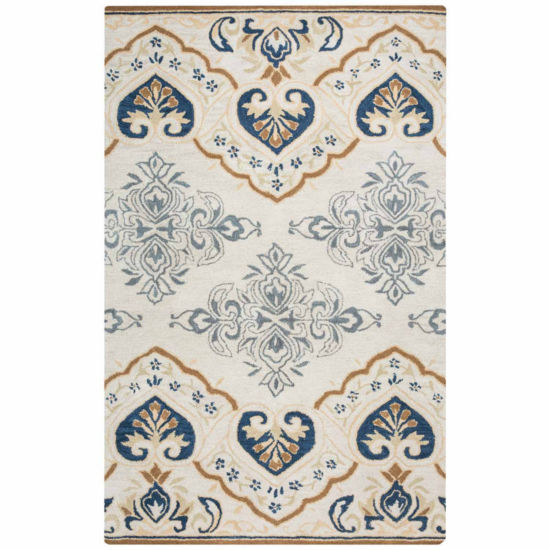 Rizzy Home Valintino Collection Paislee MedallionRectangular Rugs