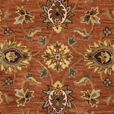 Rizzy Home Valintino Collection Selena Bordered Rectangular Rugs