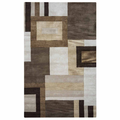 Rizzy Home Volare Collection Alison Color Block Rugs