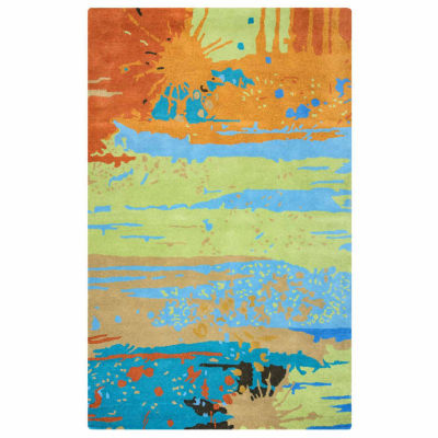 Rizzy Home Volare Collection Heidi Abstract Rugs