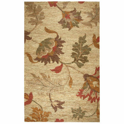 Rizzy Home Whittier Collection Cheyenne Floral Rectangular Rugs