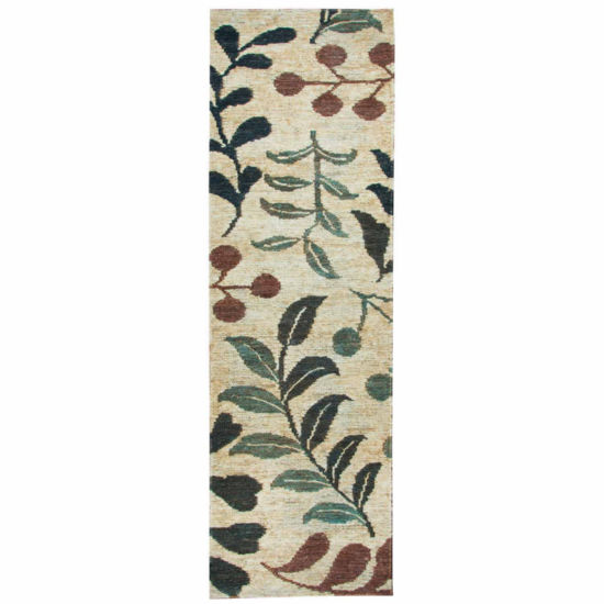 Rizzy Home Whittier Collection Mikayla Floral Rectangular Rugs
