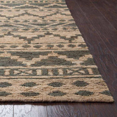 Rizzy Home Whittier Collection River Stripe Rectangular Rugs