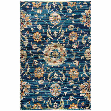 Rizzy Home Xceed Collection Ada Floral Rectangular Rugs