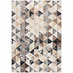 Rizzy Home Xcite Collection Amira Geometric Rectangular Rugs