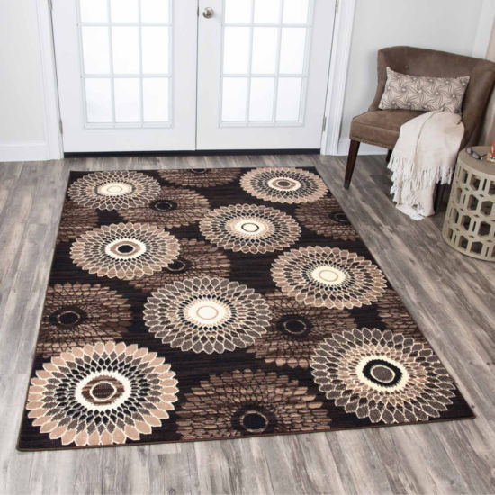 Rizzy Home Xcite Collection Bianca Medallion Rectangular Rugs