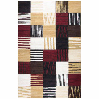 Rizzy Home Xcite Collection Leslie Patchwork Rectangular Rugs
