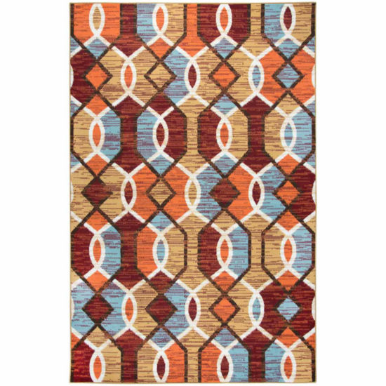 Rizzy Home Xpression Collection Carmen Geometric Rectangular Rugs