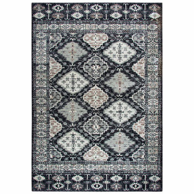 Rizzy Home Zenith Collection Quinn Oriental Rectangular Rugs