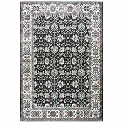 Rizzy Home Zenith Collection Reagan Oriental Rectangular Rugs