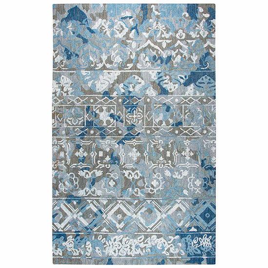 Rizzy Home Zingaro Collection Logan Pattern Rectangular Rugs